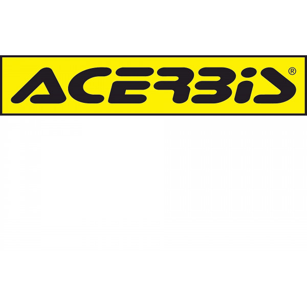 Acerbis Aufkleber Logo Decal 5ST/90CM gelb-schwarz #1