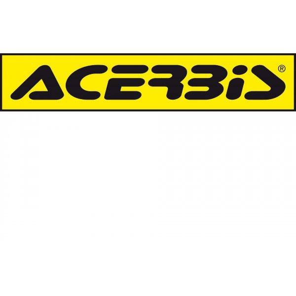 Acerbis Aufkleber Logo Decal 2ST/150CM gelb-schwarz #1