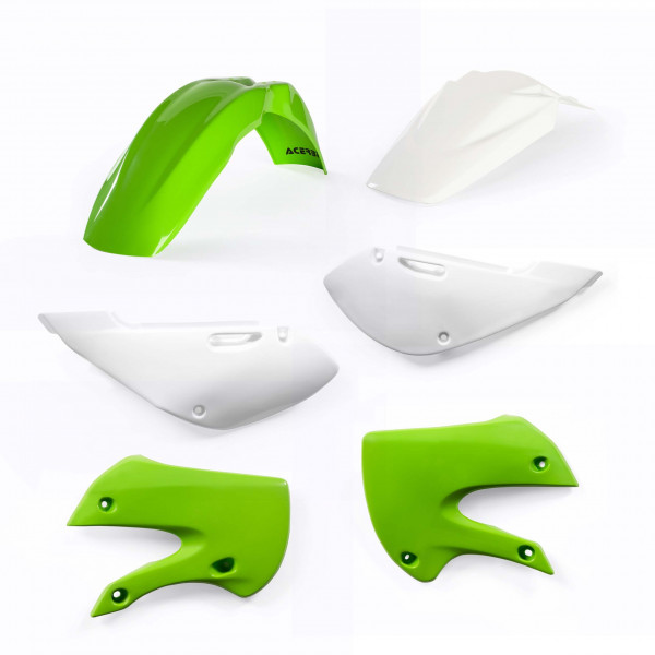 Acerbis Plastik Kit Kawasaki / Suzuki OEM13 / 4tlg. #1