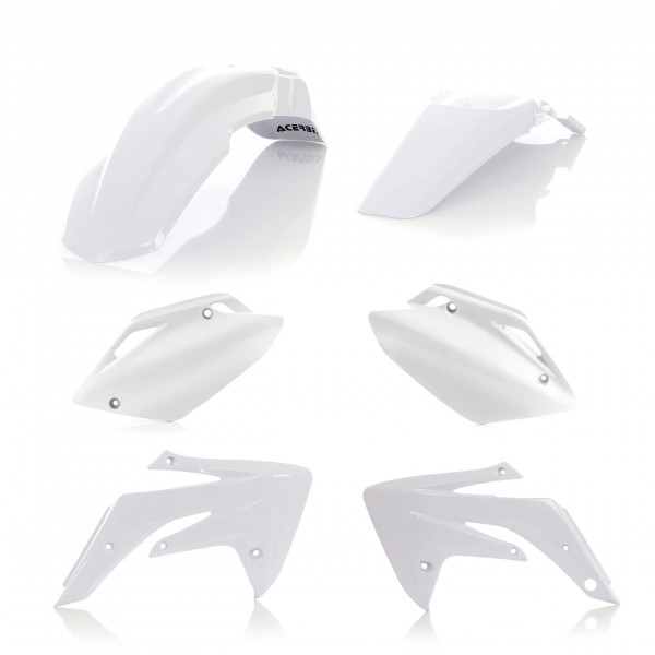 Acerbis Plastik Kit Honda weiß / 4tlg. #1