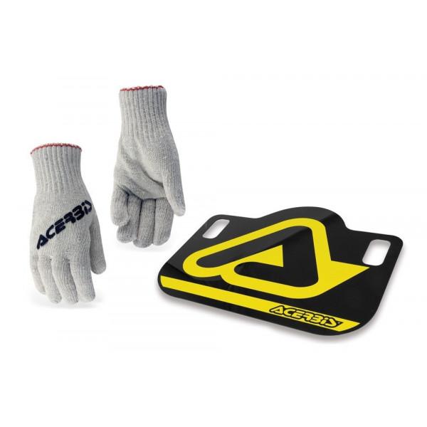 Acerbis Pit Board schwarz-gelb #1