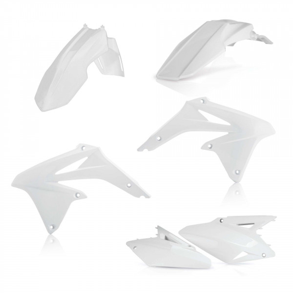 Acerbis Plastik Kit Suzuki weiß / 4tlg. #1