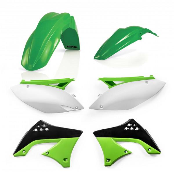Acerbis Plastik Kit Kawasaki OEM10 / 4-teilig #1