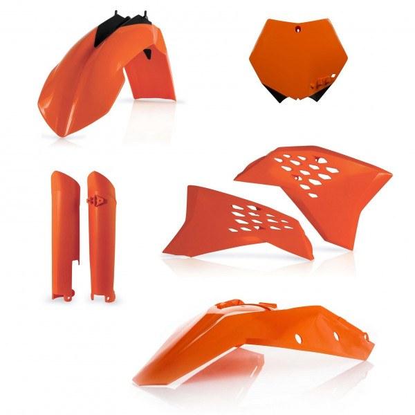 Acerbis Plastik Full Kit KTM orange / 5tlg. #1