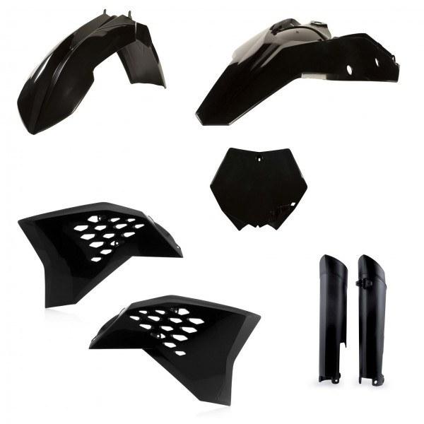 Acerbis Plastik Full Kit KTM schwarz / 5tlg. #1