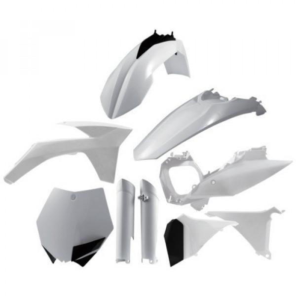 Acerbis Plastik Full Kit KTM weiß / 7tlg. #1