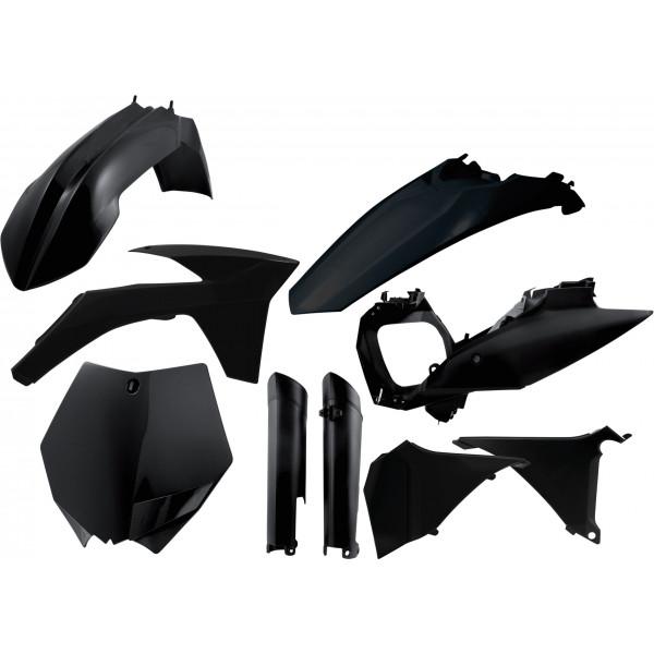 Acerbis Plastik Full Kit KTM schwarz / 7tlg. #1