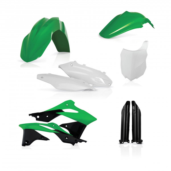 Acerbis Plastik Full Kit Kawasaki OEM16 / 6tlg. #1