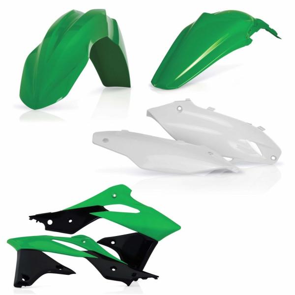 Acerbis Plastik Kit Kawasaki OEM16 / 4tlg. #1
