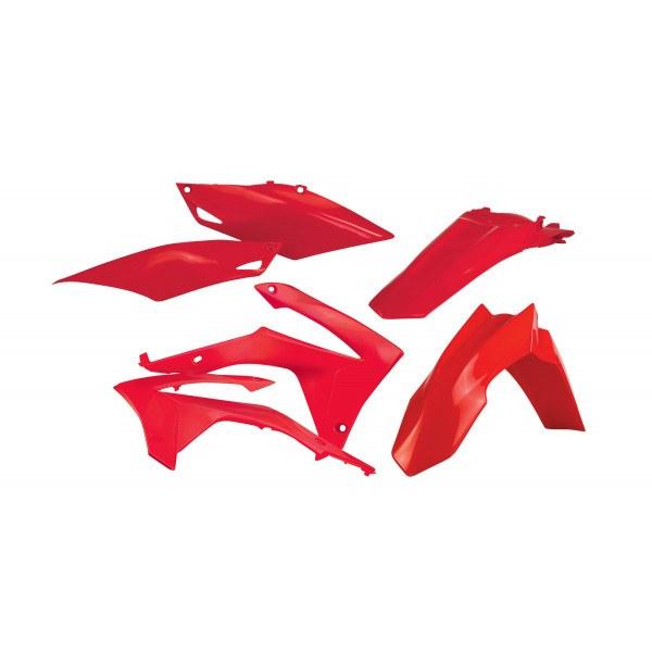 Acerbis Plastik Kit Honda rot / 4tlg. #1