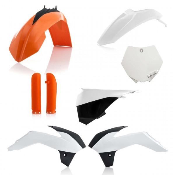 Acerbis Plastik Full Kit KTM OEM17  / 6-tlg. #1