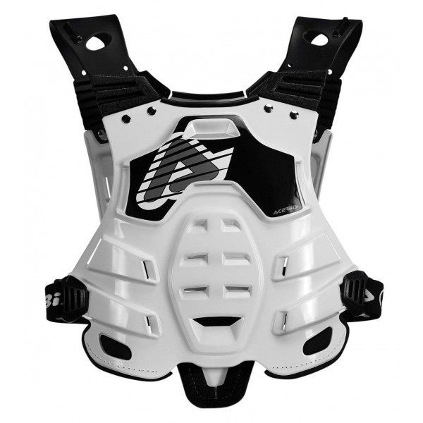 Acerbis Brust- & Rückenprotektor Profile weiß #1