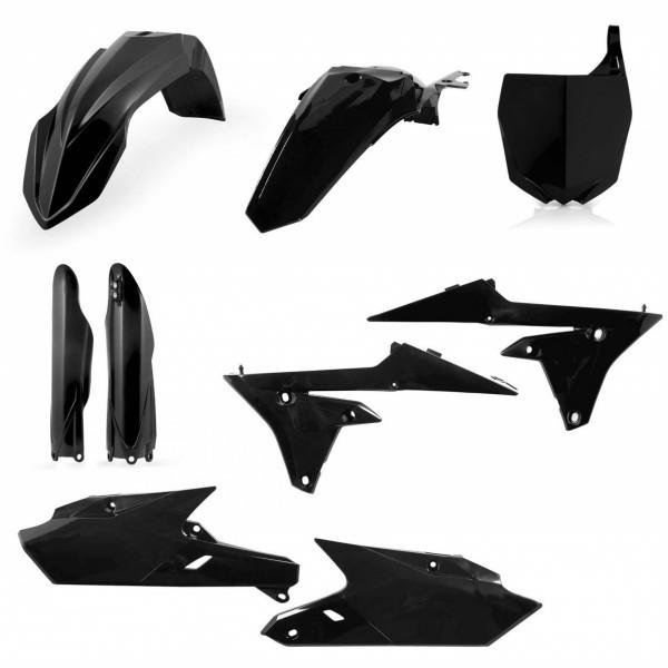 Acerbis Plastik Full Kit Yamaha schwarz / 6tlg. #1