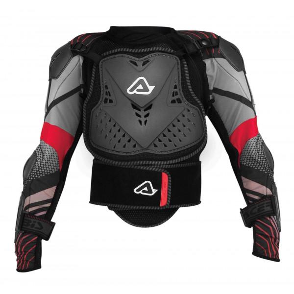 Acerbis Protektorenjacke Scudo Junior 2.0 schwarz-rot #1