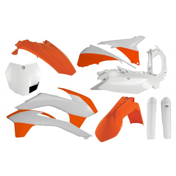 Acerbis Plastik Full Kit KTM OEM / 7tlg. #1