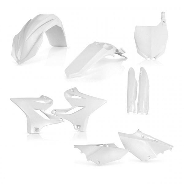 Acerbis Plastik Full Kit Yamaha weiß / 6tlg. #1