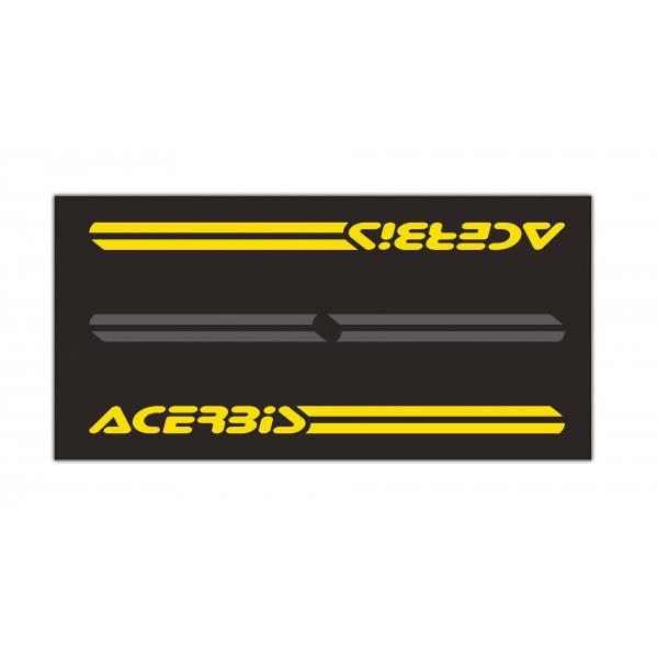 Acerbis Werkstattmatte Moto 200X100 schwarz-gelb #1