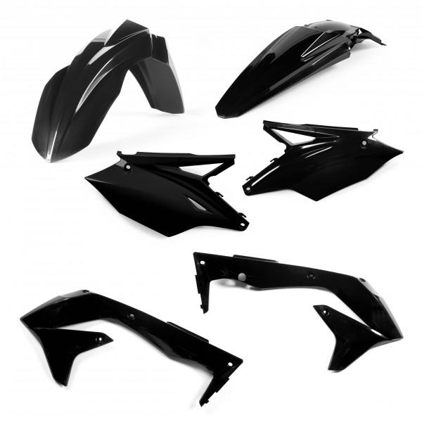 Acerbis Plastik Kit Kawasaki EU schwarz / 4tlg. #1