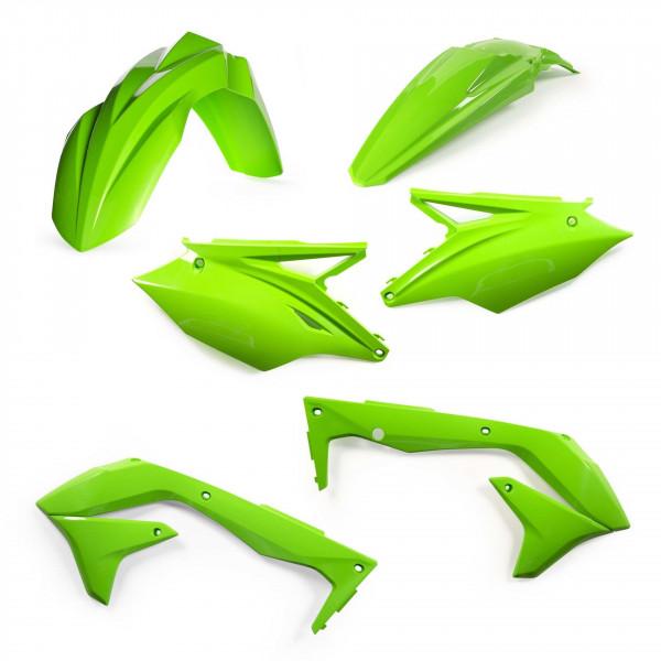 Acerbis Plastik Kit Kawasaki EU grün / 4tlg. #1