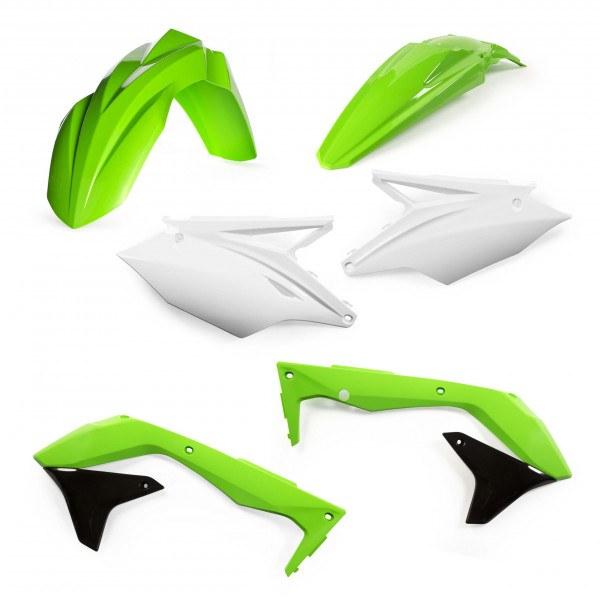 Acerbis Plastik Kit Kawasaki EU OEM / 4tlg. #1