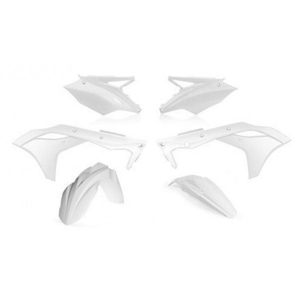 Acerbis Plastik Kit Kawasaki weiß / 4tlg. #1