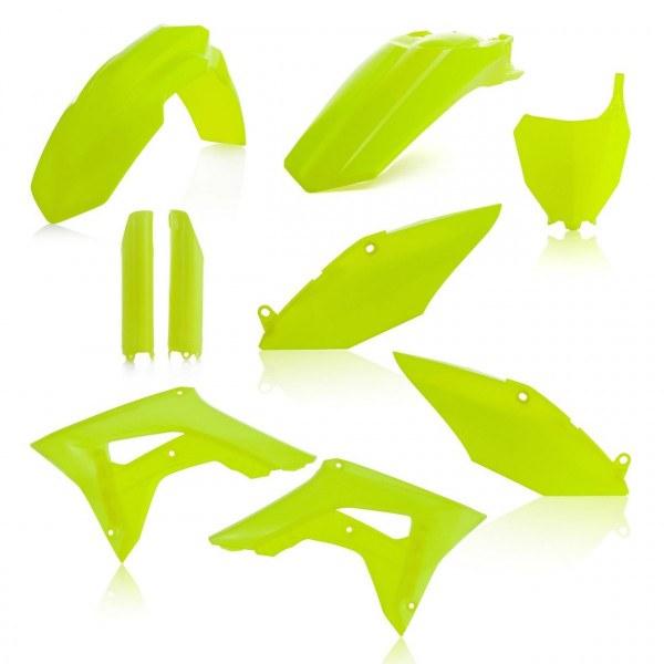 Acerbis Plastik Full Kit Honda gelb-fluo / 6tlg. #1