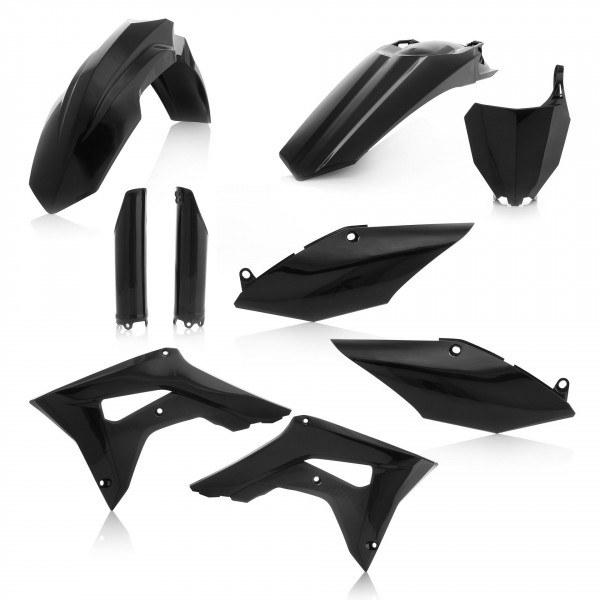 Acerbis Plastik Full Kit Honda schwarz / 6tlg. #1