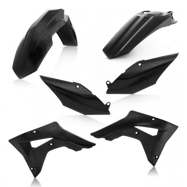 Acerbis Plastik Kit Honda schwarz / 4tlg. #1