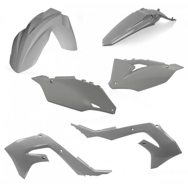 Acerbis Plastik Kit Kawasaki grau / 4tlg. #1