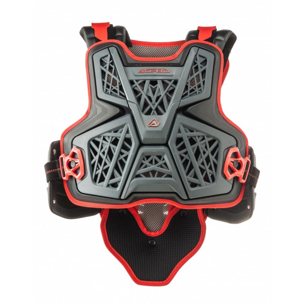Acerbis Brust- & Rückenprotektor Jump MX grau-schwarz #1