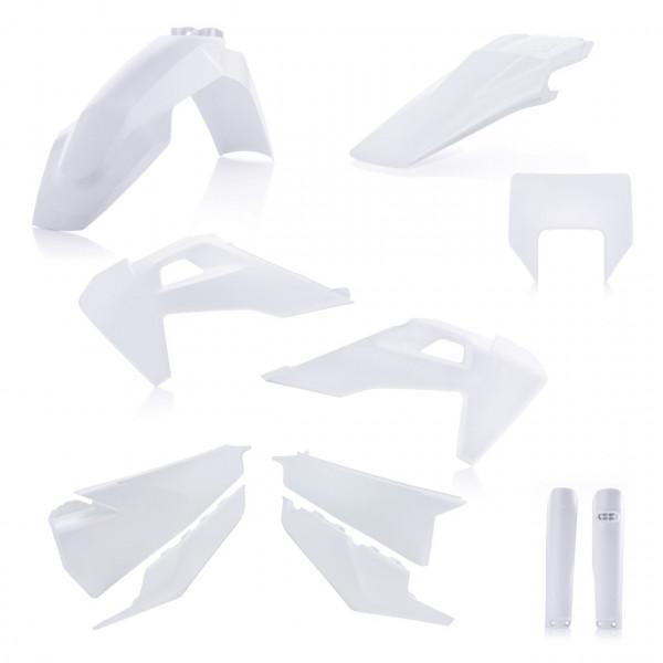 ACERBIS Plastik Full Kit Husqvarna weiß2 / 6tlg. #1