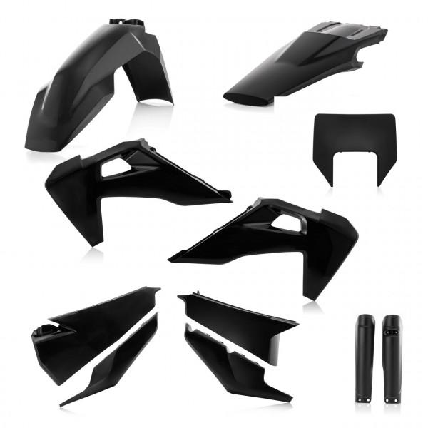 Acerbis Plastik Full Kit Husqvarna schwarz / 6tlg. #1
