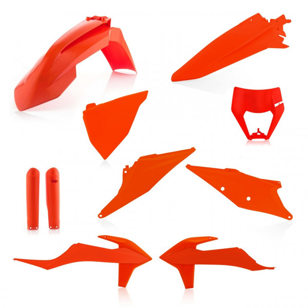 Acerbis Plastik Full Kit KTM orange16 / 7tlg. #1