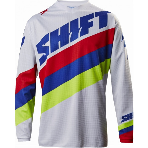 SALE% - SHIFT Jersey Whit3 Tarmac weiß #1