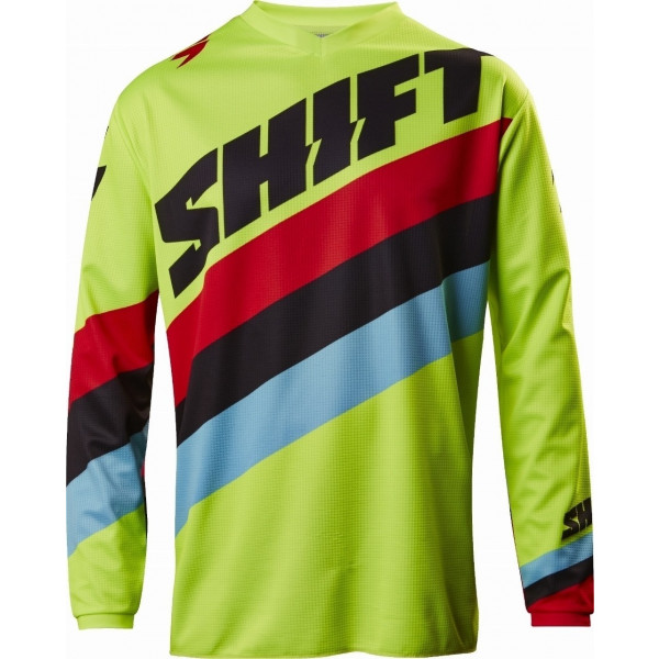 SALE% - SHIFT Jersey Whit3 Tarmac gelb-fluo #1