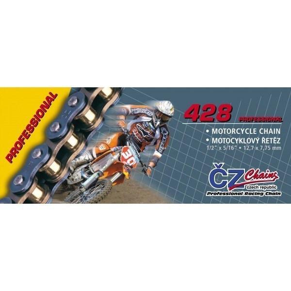 CZ Kette 428 Gold Professional T428/G130 #1