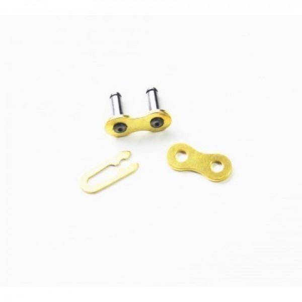 CZ Kettenschloß Clip 520 MX Gold Super T520/G118 #1