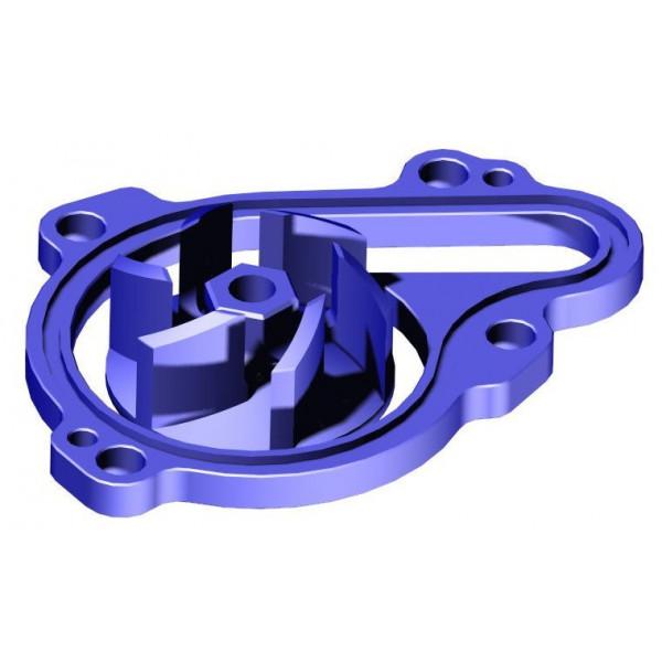 H-ONE Wasserpumpenrad Kit Pro Yamaha blau #1