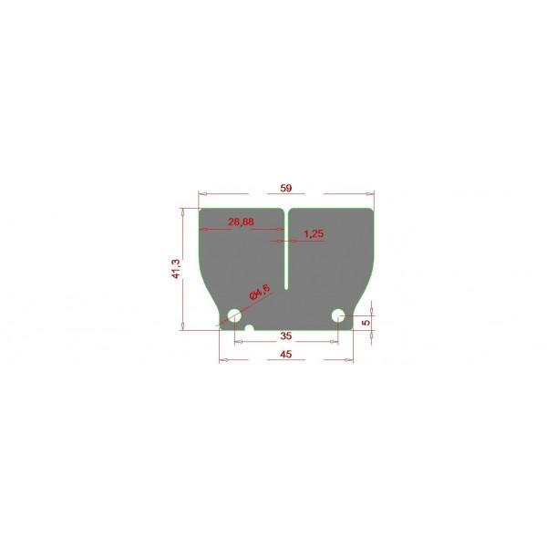 H-ONE Membran Kit V-Force KTM / Husqvarna #1