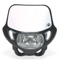 Acerbis Lampenmaske DHH-C schwarz