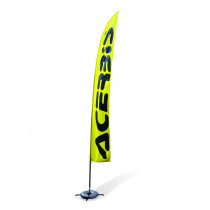 Acerbis Fahne Flag gelb-schwarz