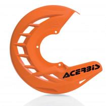 Acerbis Bremsscheiben Schutz X-BRAKE Honda / Yamaha / Suzuki / Kawasaki / KTM / Husqvarna / Beta / Sherco orange