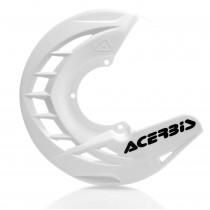 Acerbis Bremsscheiben Schutz X-BRAKE Honda / Yamaha / Suzuki / Kawasaki / KTM / Husqvarna / Beta / Sherco weiß