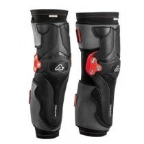 Acerbis Knieprotektor X-Strong schwarz-rot