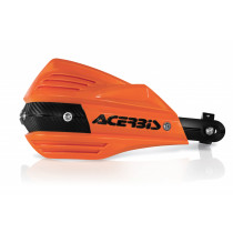 Acerbis Handprotektoren KIT X-FACTOR inkl. Anbaukit orange/schwarz