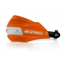 Acerbis Ersatzschalen Handprotektoren X-FACTOR orange/weiß