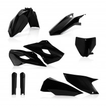 Acerbis Plastik Full Kit Husqvarna schwarz / 6tlg.