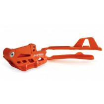 Acerbis Kit Schwingenschleifer / Kettenklotz 2.0 KTM / Husqvarna orange