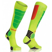 Acerbis Socken MX IMPACT JUNIOR orange-fluo-gelb-fluo