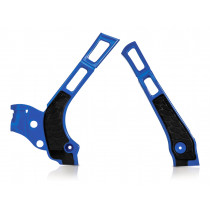 Acerbis Rahmenprotektor X-GRIP Yamaha blau-schwarz